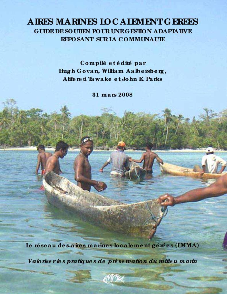 thumbnail of Govan et al 2008 LMMA Guide pour gestion communaute