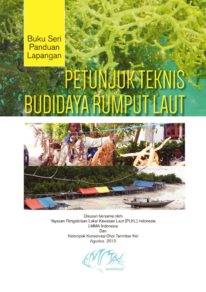 thumbnail of ILMMA_Seaweed Cultivation_Field Guide Series_2015